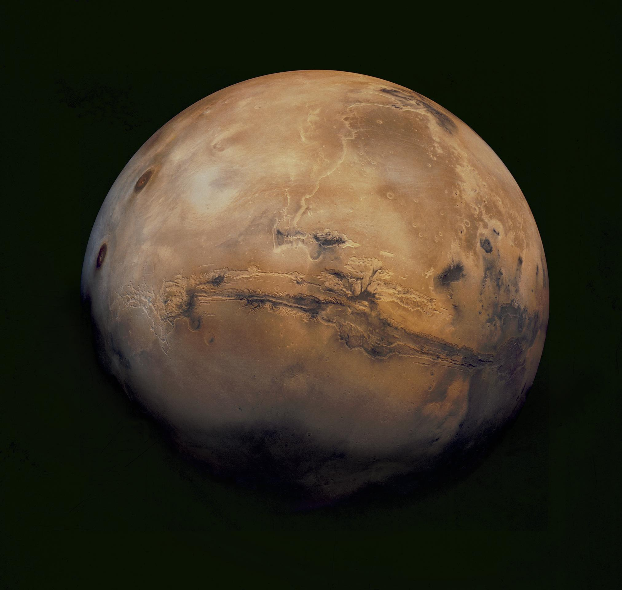Mars might be made of mashed-up baby planets