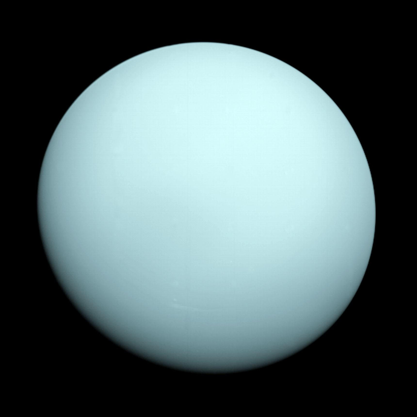 Uranus blasted a gas bubble 22,000 times bigger than Earth