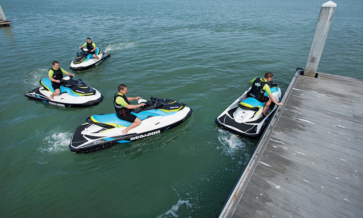 Personal Watercraft Handling and Control Gets More Responsive