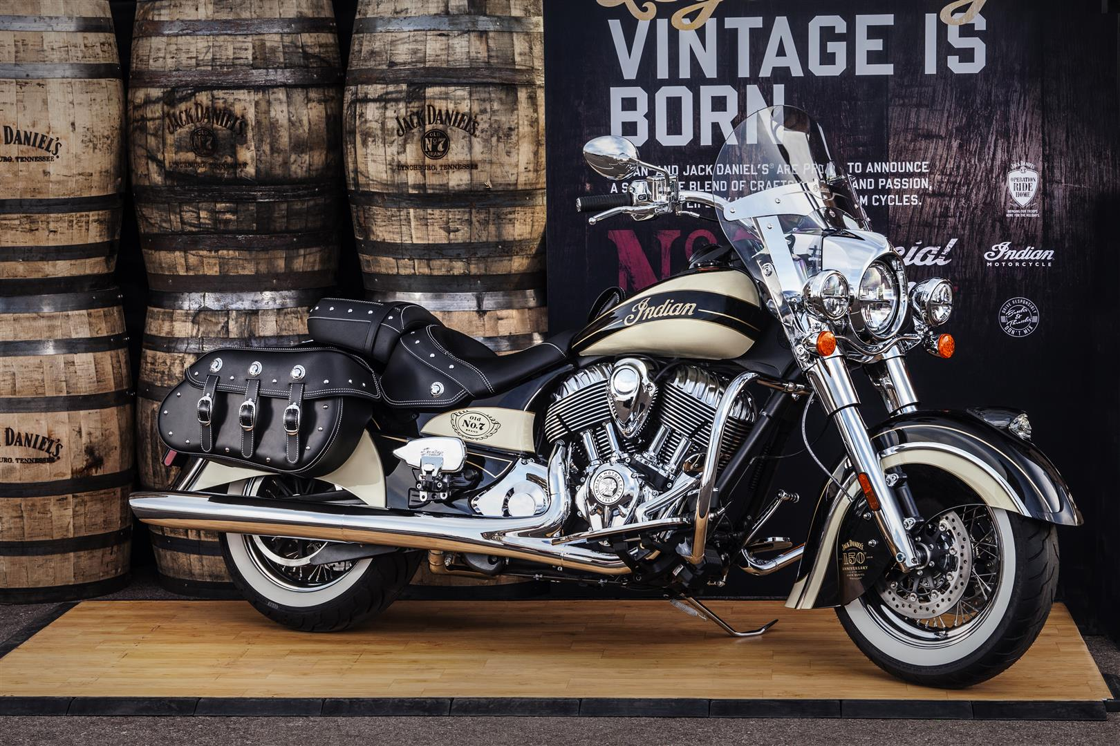 Indian Motorcycle Jack Daniels Limited Editon Chief Hits The Auction Block Cycle World