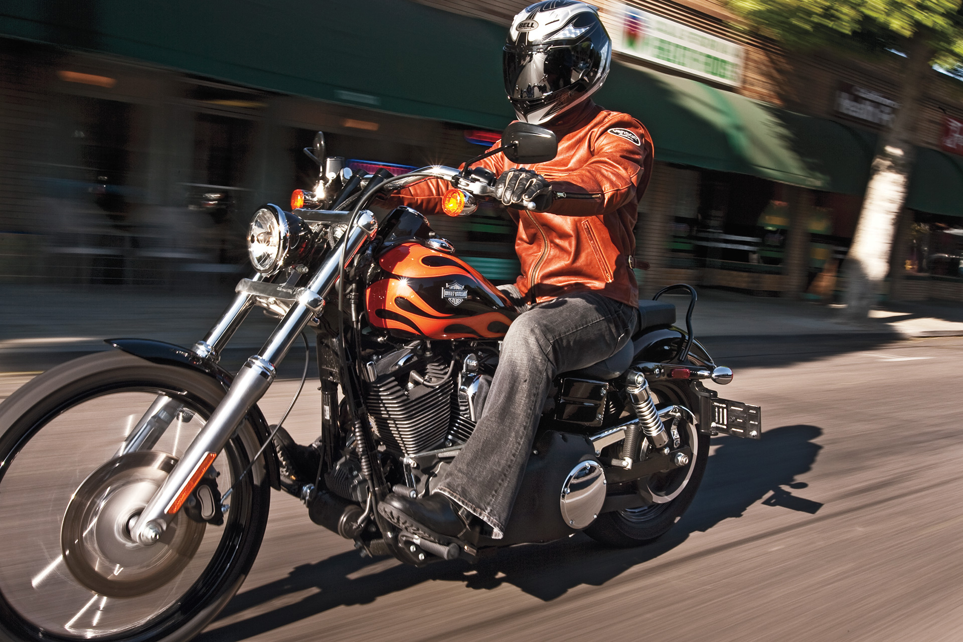 Harley Davidson Wide Glide Cruiser Motorcycle Review Road Test Cycle World