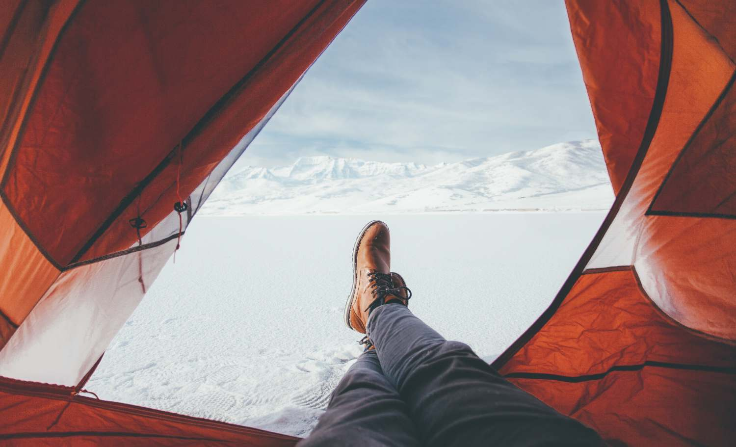 Winter camping is a great way to see more nature and fewer people