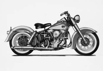 Harley-Davidson Panhead V-Twin Motorcycles - HISTORY OF THE BIG TWIN
