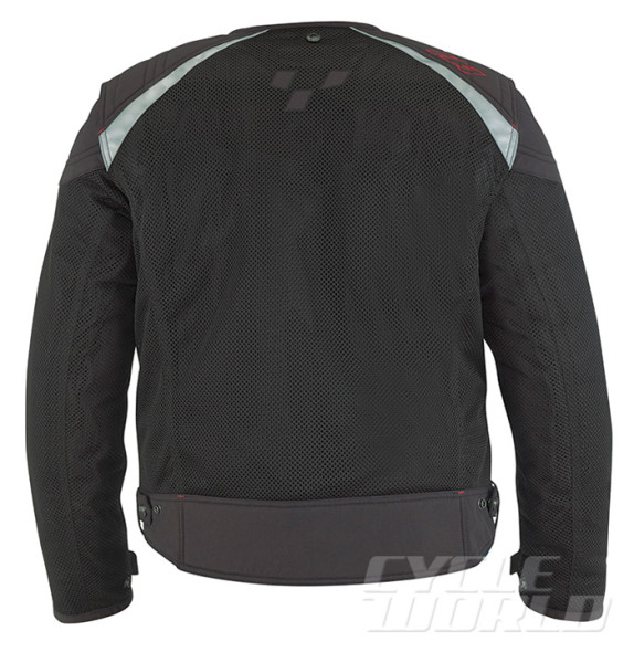 NEW CAN-AM MEN/'S RUSSELL MESH JACKET BLACK  #440676
