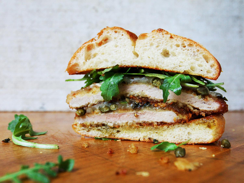 Crispy Pork Schnitzel Sandwiches Saveur