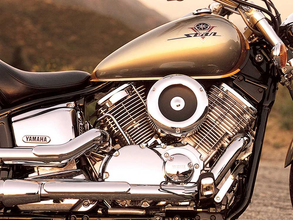 The 1999 Yamaha V-Star 1100 Was A Happy Medium Cruiser