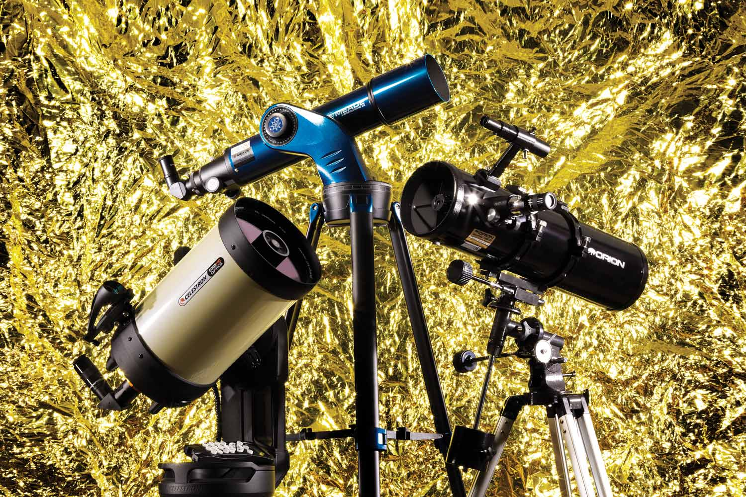 Clear-as-day telescopes for watching the night sky