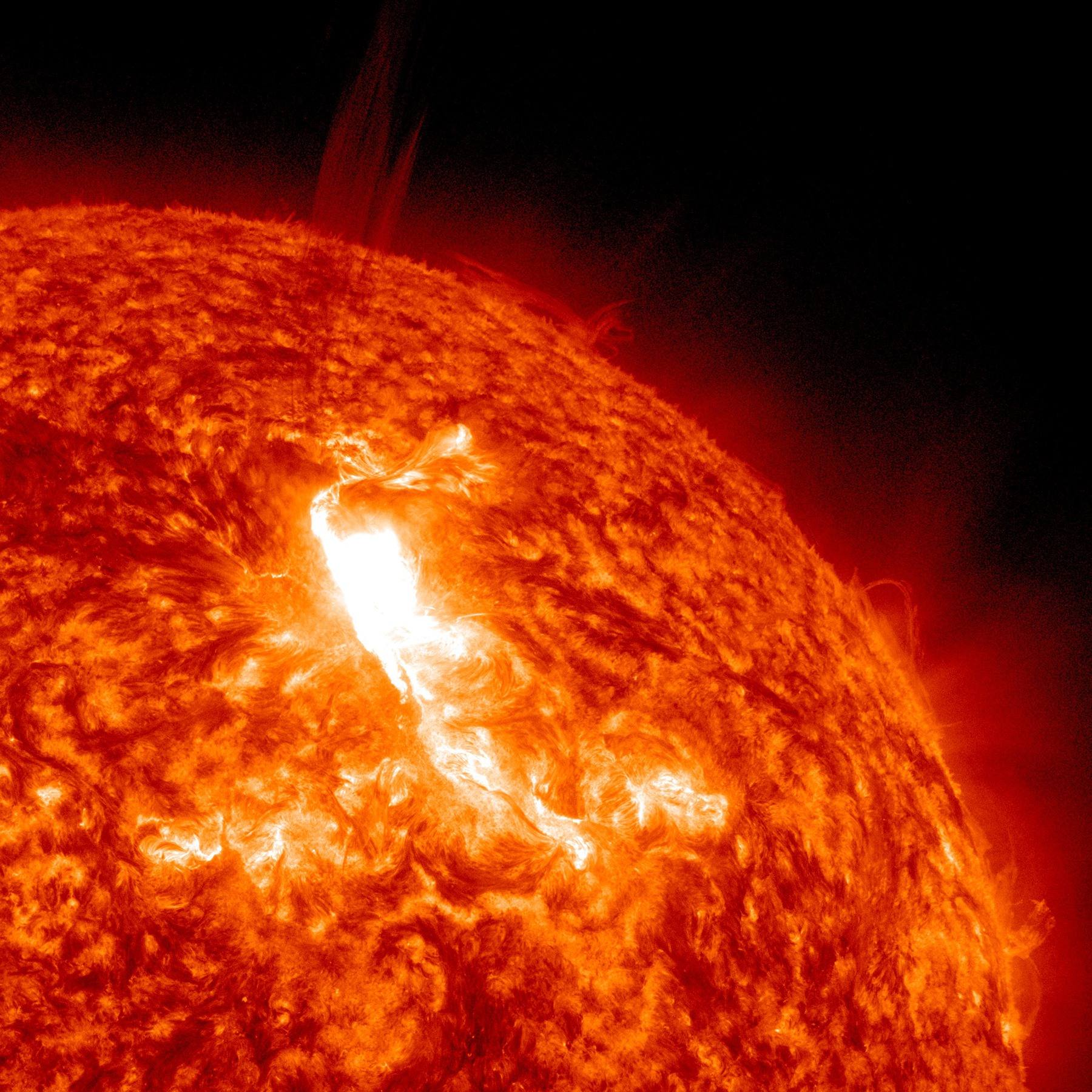 Why is space so cold if the sun is so hot?