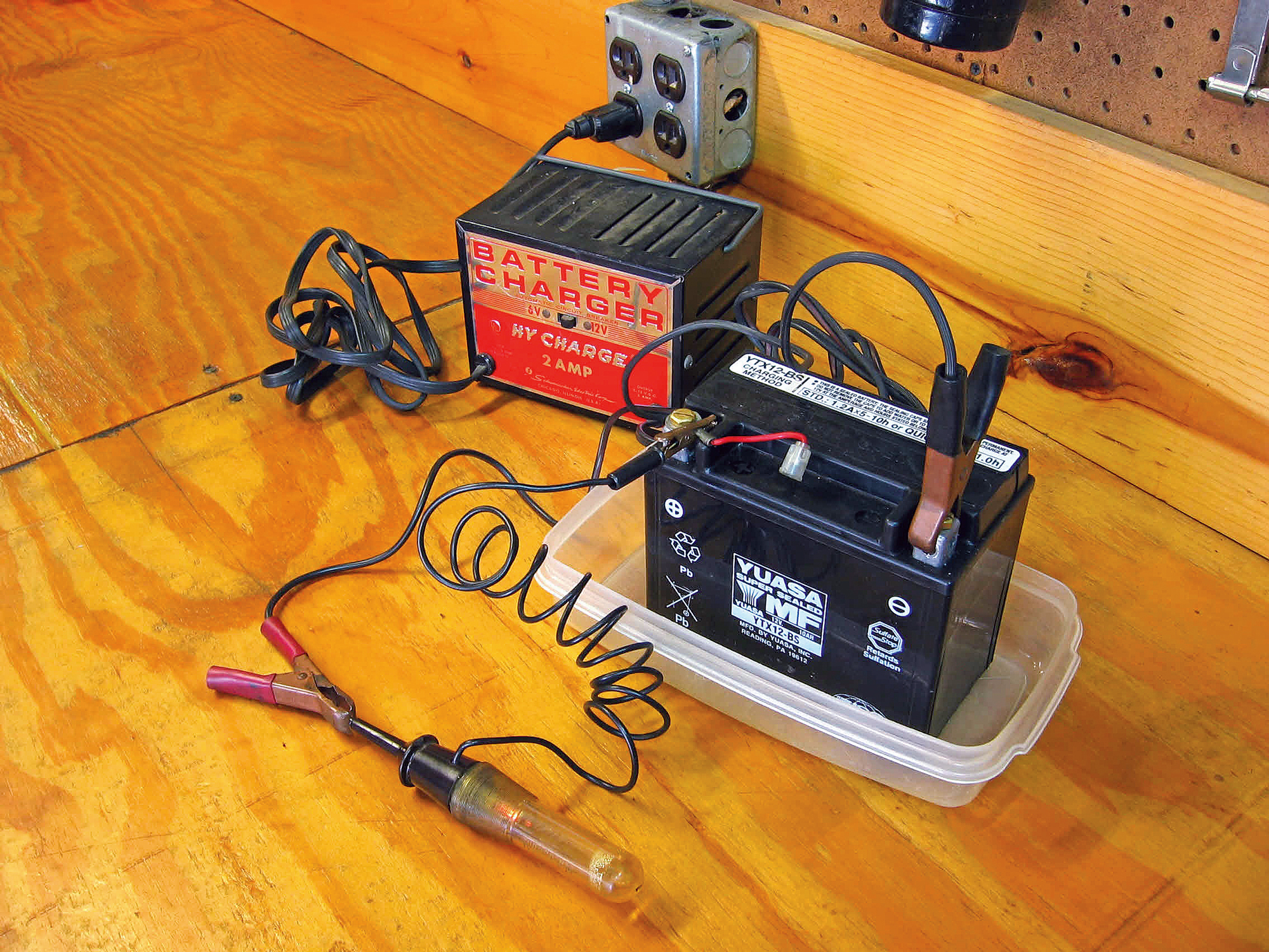Tech Tip for Recharging Your Motorcycle Battery the Right ... Harley Davidson Battery Tender Harness Wire on