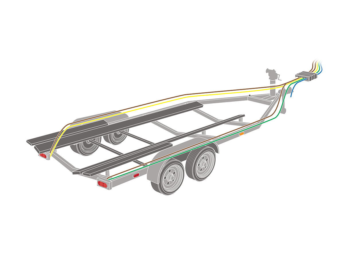 How to Rewire Your Boat Trailer | Boating Magazine | Bass Boat Trailer Wiring Diagrams |  | Boating Magazine