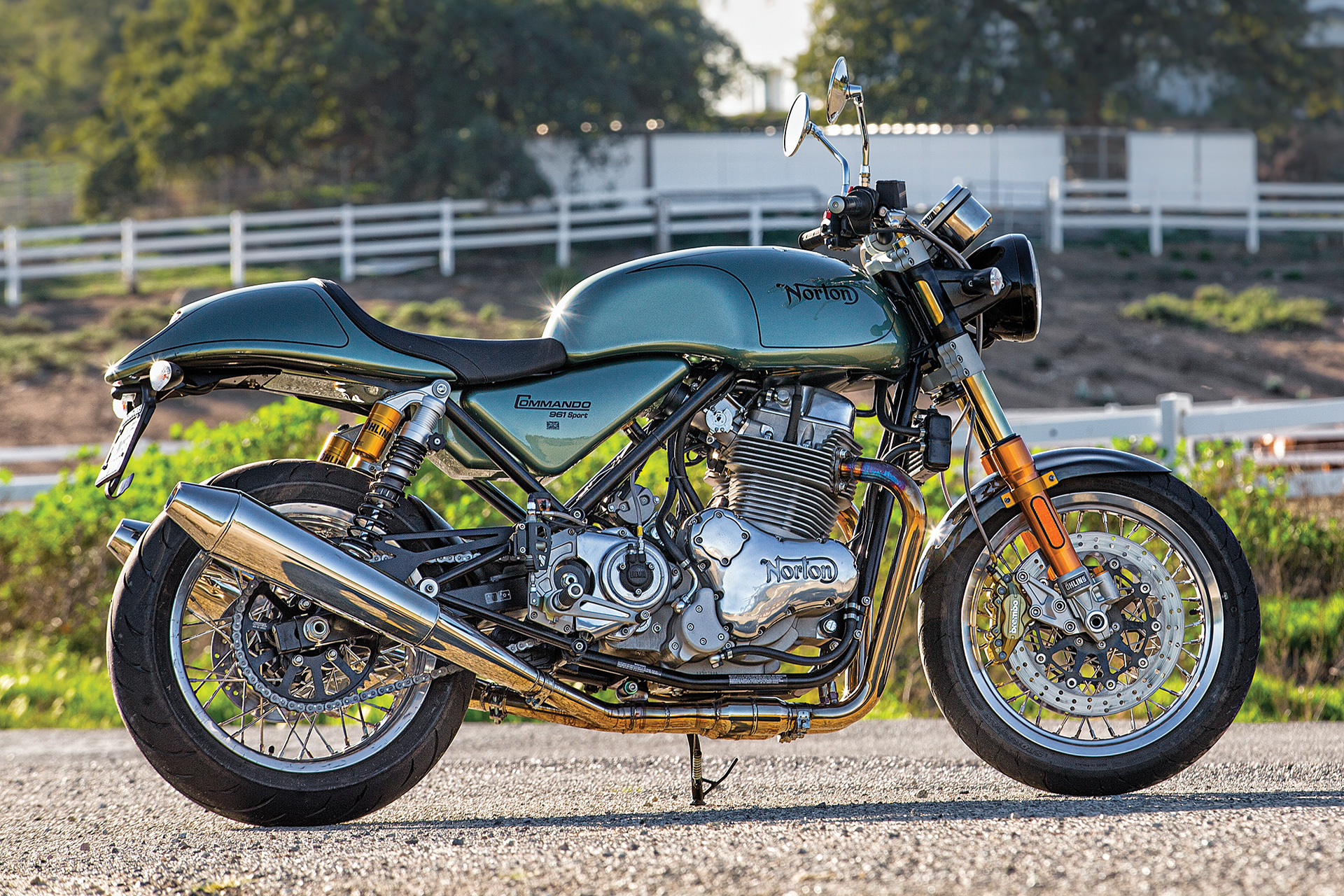 2015 Norton Commando 961 Sport Motorcycle Review Cycle World