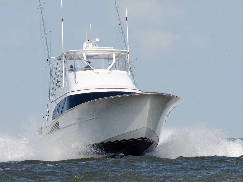 Jackpot sport fishing boat
