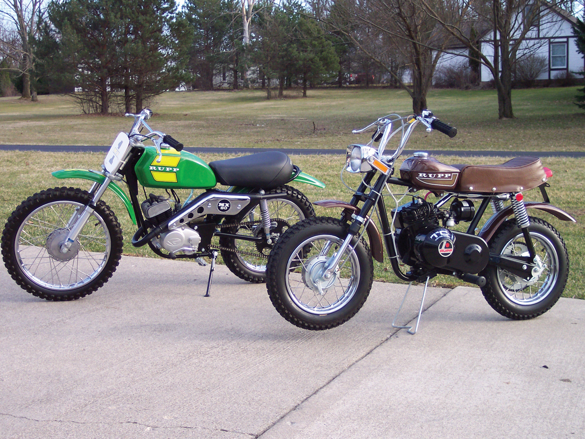 RUPP MINIBIKES   Motorcyclist