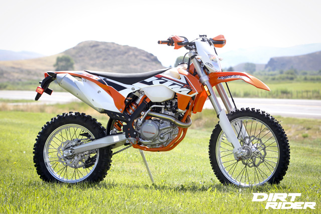 2015 KTM 500 EXC - A Dual-Sport Bike Review | Dirt Rider