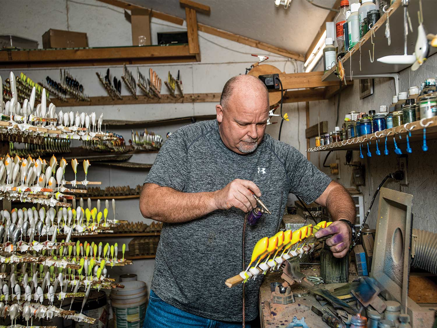 The Secret World of Custom Balsa Crankbaits | Outdoor Life