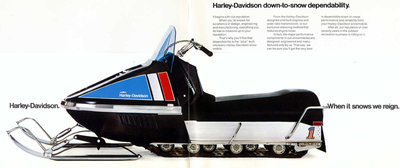 Bet You Didn't Know Harley-Davidson Once Sold Snowmobiles ... Raider Snowmobile Wiring Diagram on