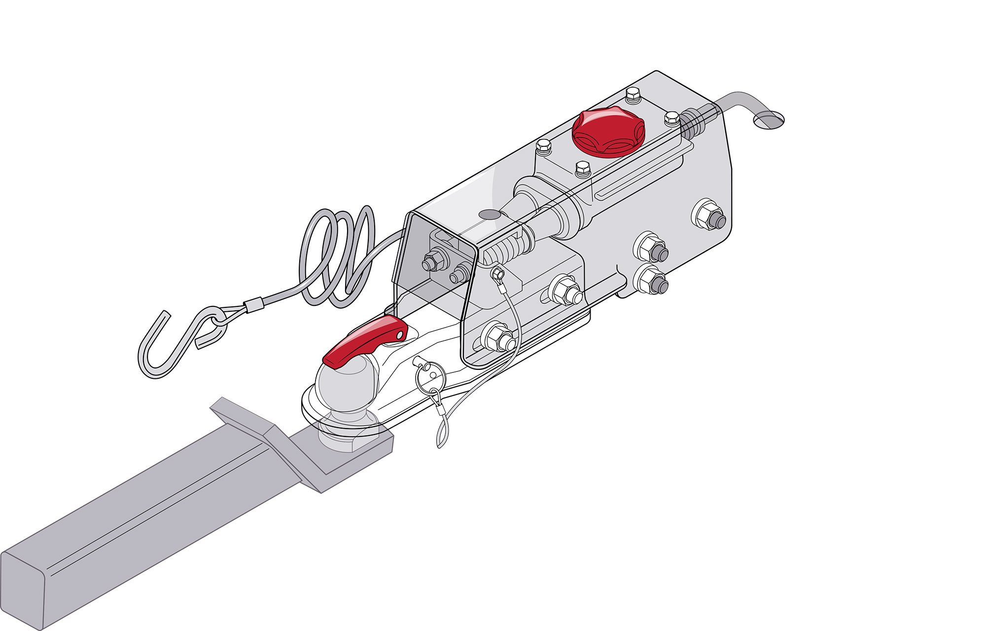 boat trailer brake wiring diagram how to replace a boat trailer surge brake actuator coupler  boat trailer surge brake actuator
