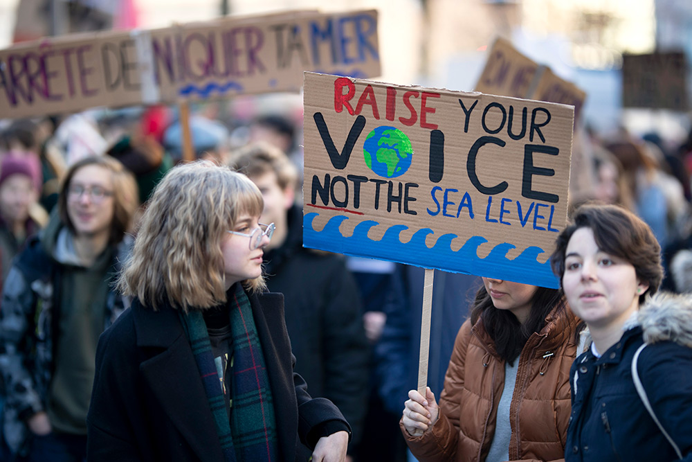 Kids skipping school to protest climate change isn't just reasonable—it's logical