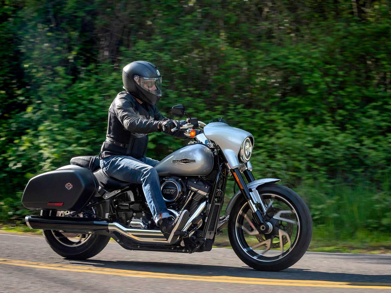1,000 Miles On A 2019 Harley-Davidson Sport Glide—And We're Not Done