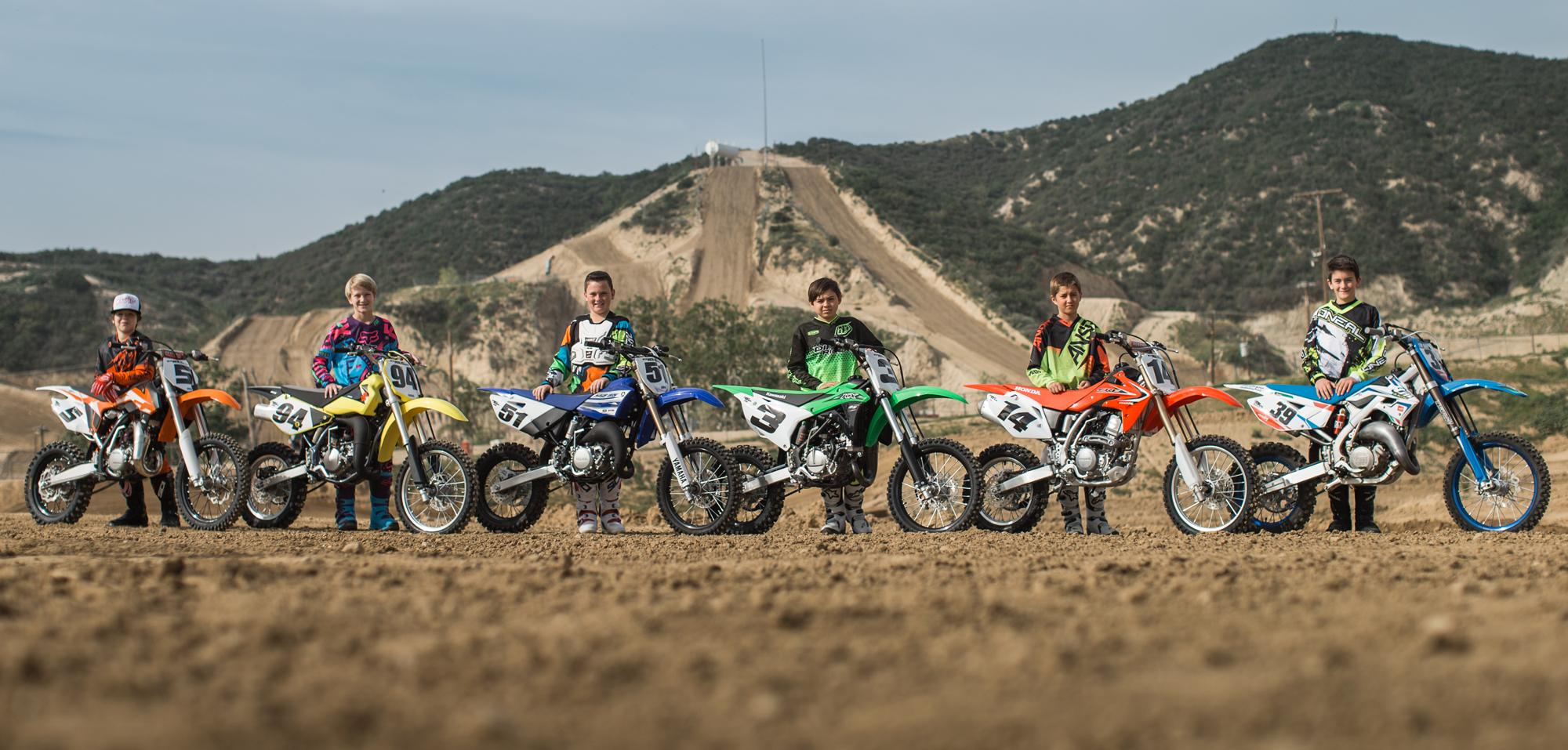 2016 Dirt Rider 85cc MX Shootout | Dirt Rider