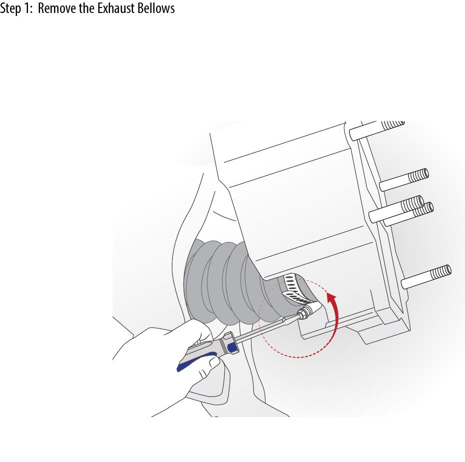 Mercruiser Exhaust Bellow