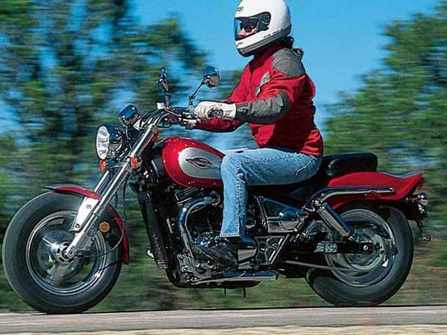 Motorcycle Test: 1997 Suzuki Marauder 800   Motorcycle Cruiser