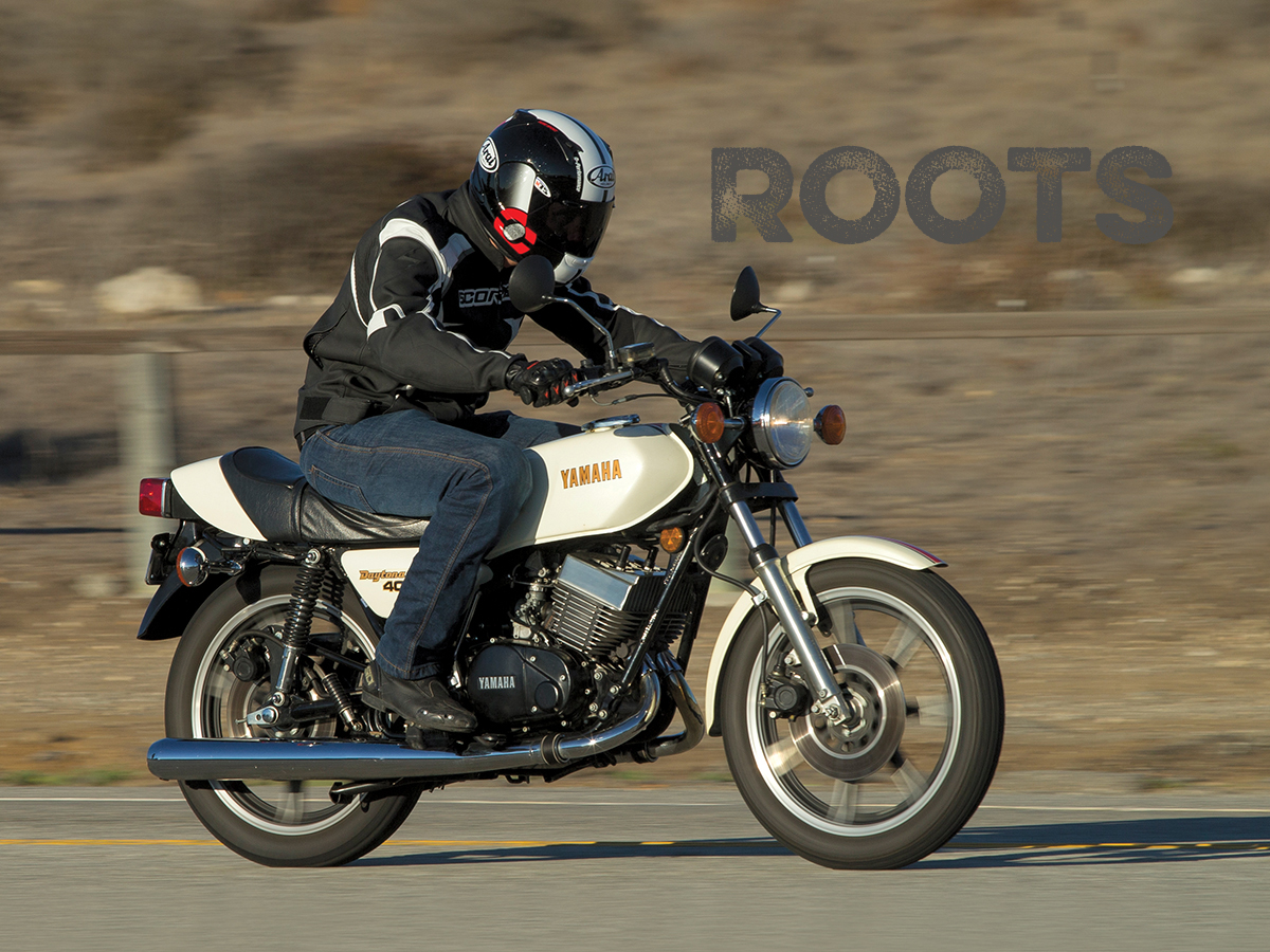TWO-STROKE MOTORCYCLES: Yamaha's RD400 Daytona Special From