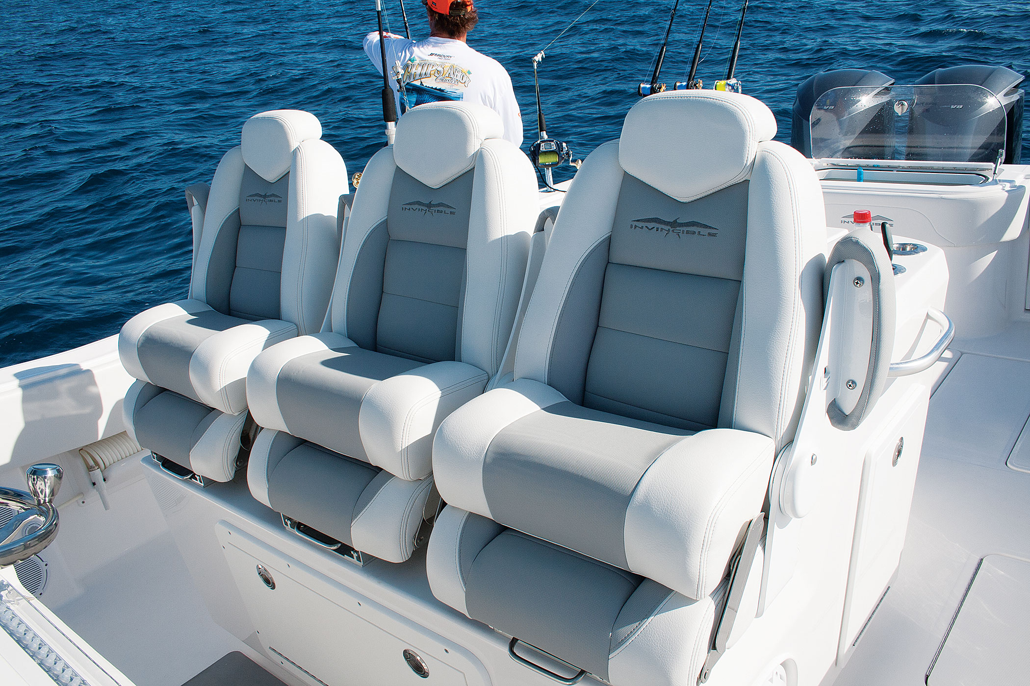 Super New Helm Chairs On Fishing Boats Sport Fishing Magazine Theyellowbook Wood Chair Design Ideas Theyellowbookinfo