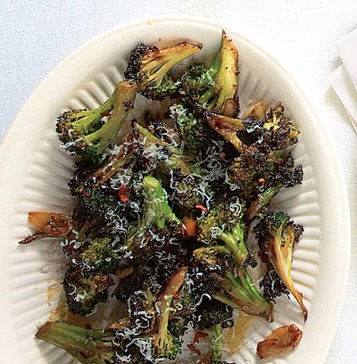 Broccoli With Garlic And Hot Pepper Broccoli Strascinati Recipe Saveur