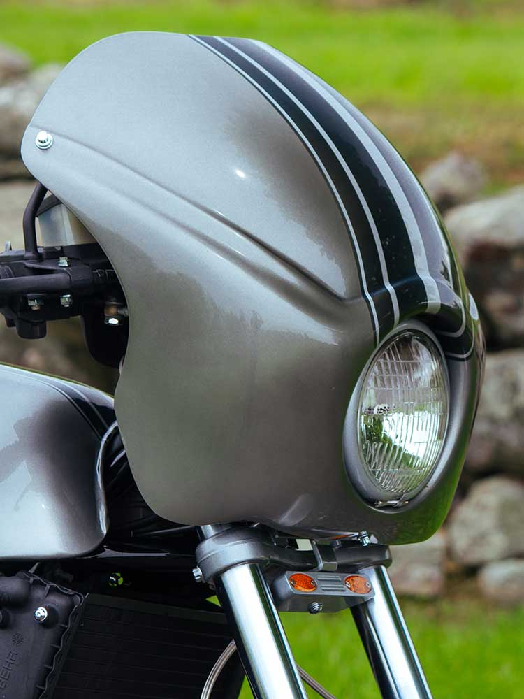 1985 BMW K100 - From Clunky To Café Custom | Motorcycle Cruiser