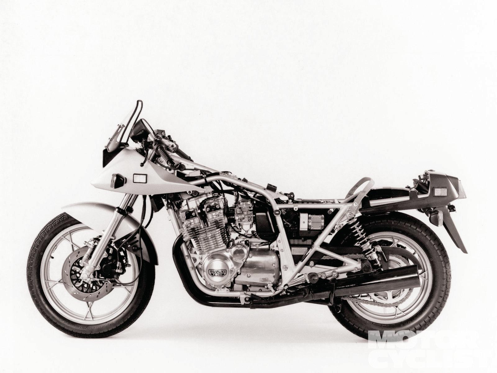 Suzuki Katana   Motorcyclist