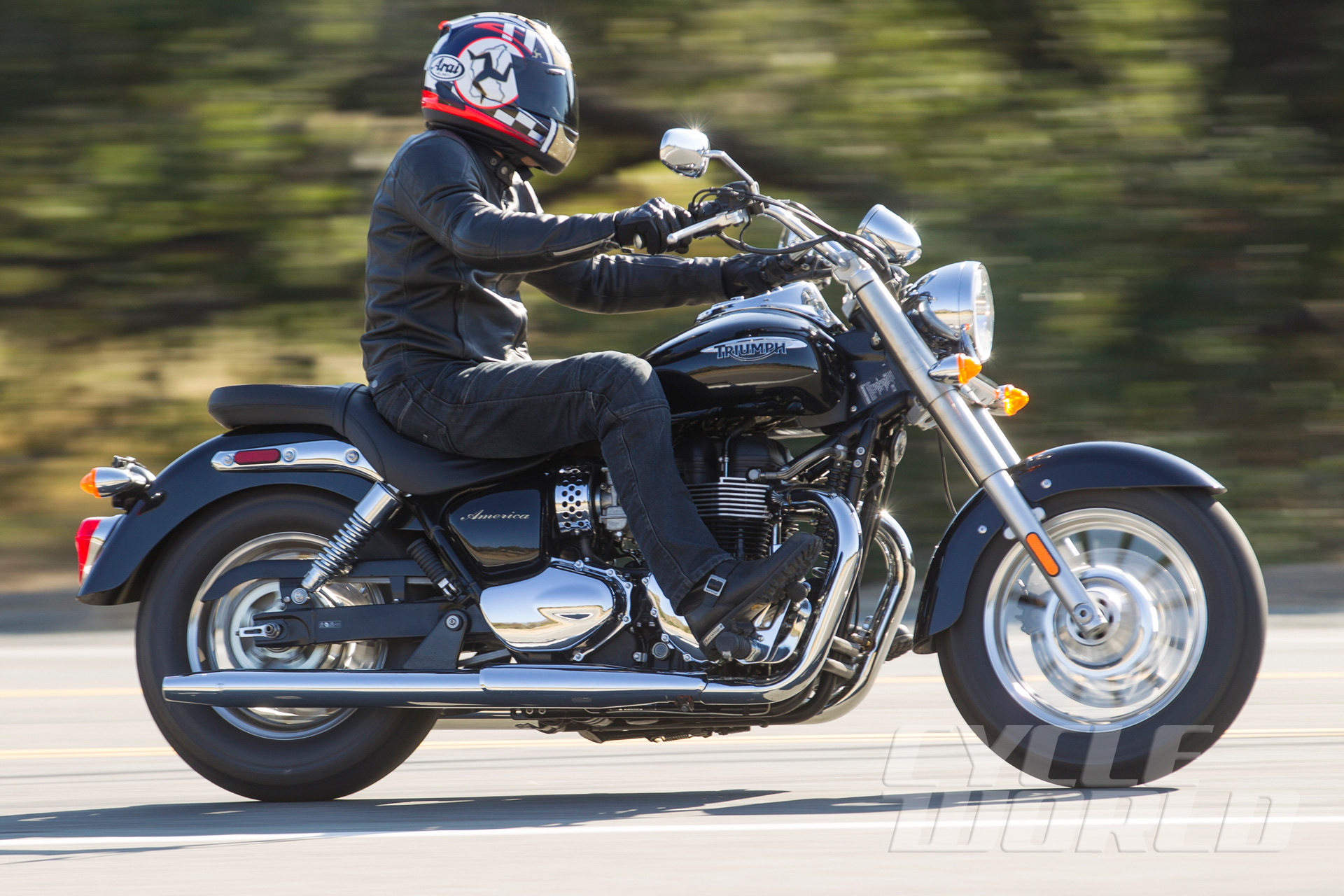 Sensational 2015 Triumph America Riding Impression Cruiser Motorcycle Caraccident5 Cool Chair Designs And Ideas Caraccident5Info