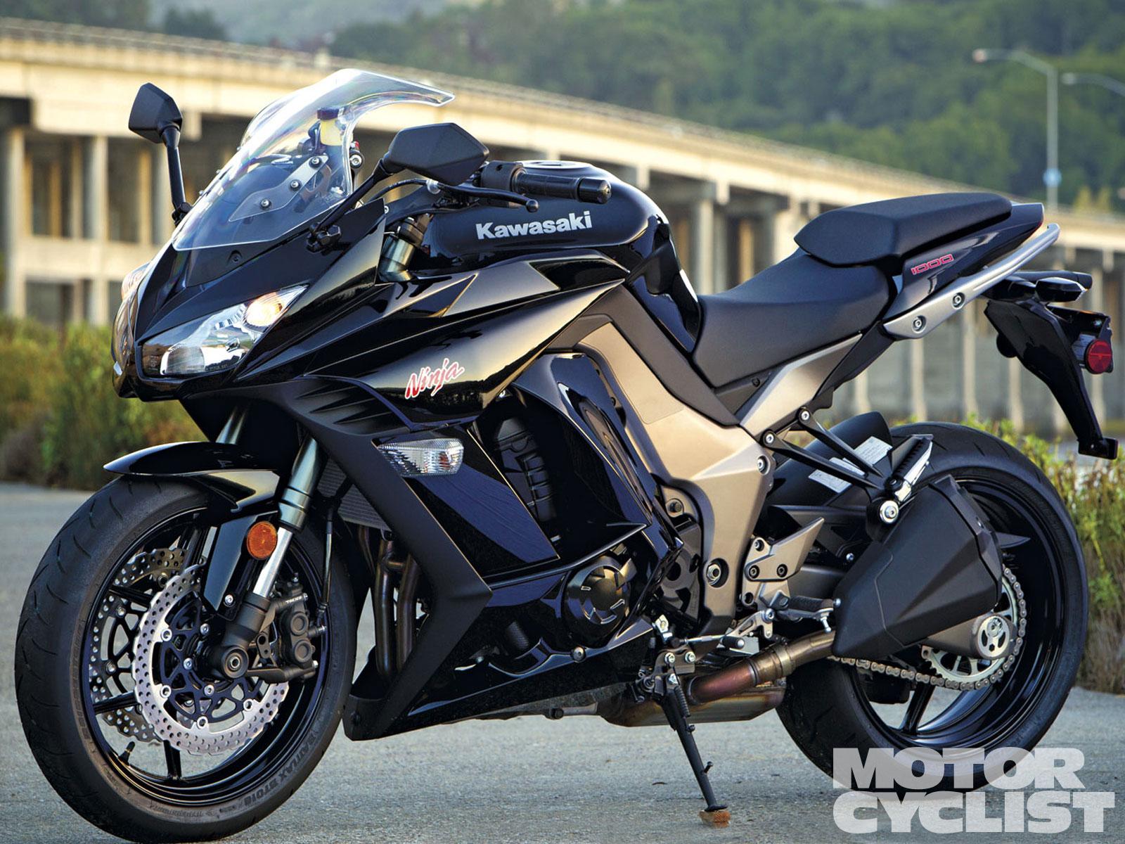 2011 Kawasaki Ninja 1000 Motorcyclist
