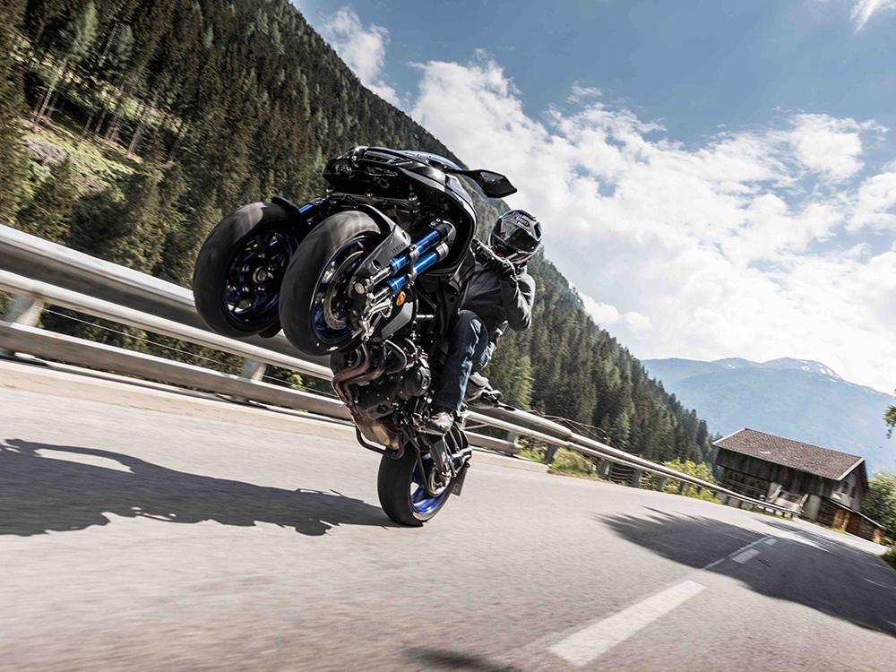 Yamaha Niken Three-Wheeler Takes On The Alps | Motorcyclist