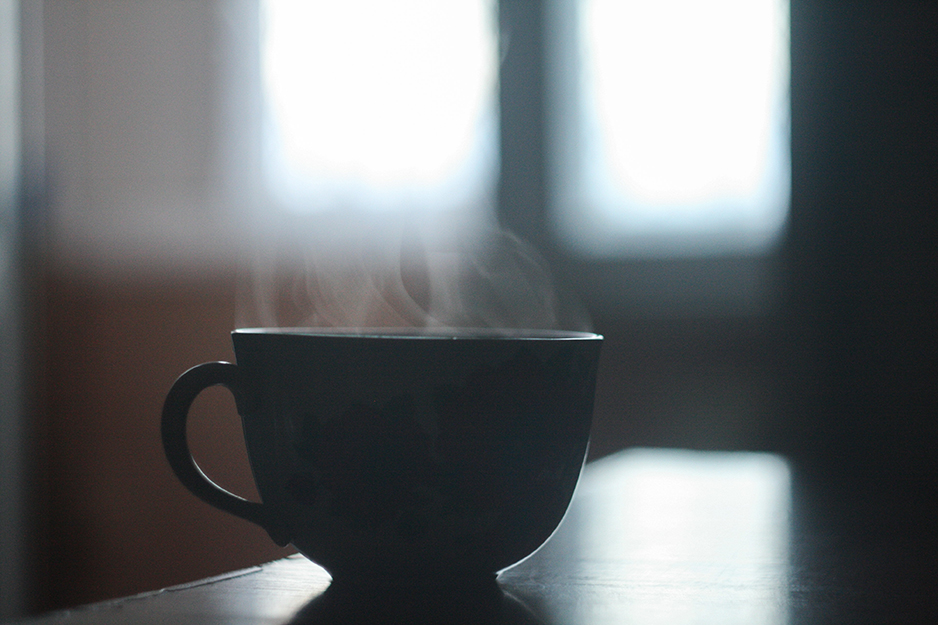 Start your morning with a delicious dark roast coffee