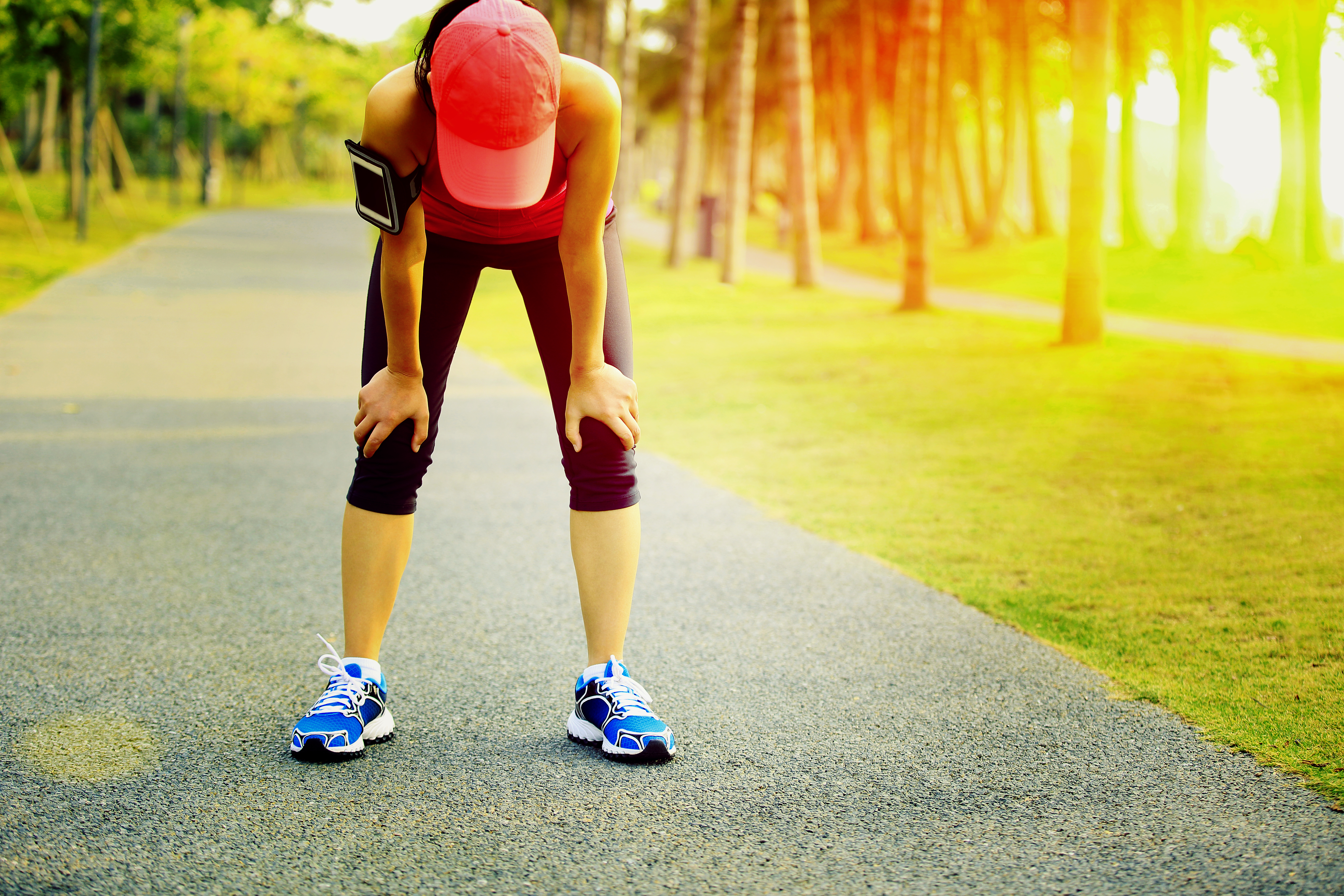 You can actually be allergic to exercise