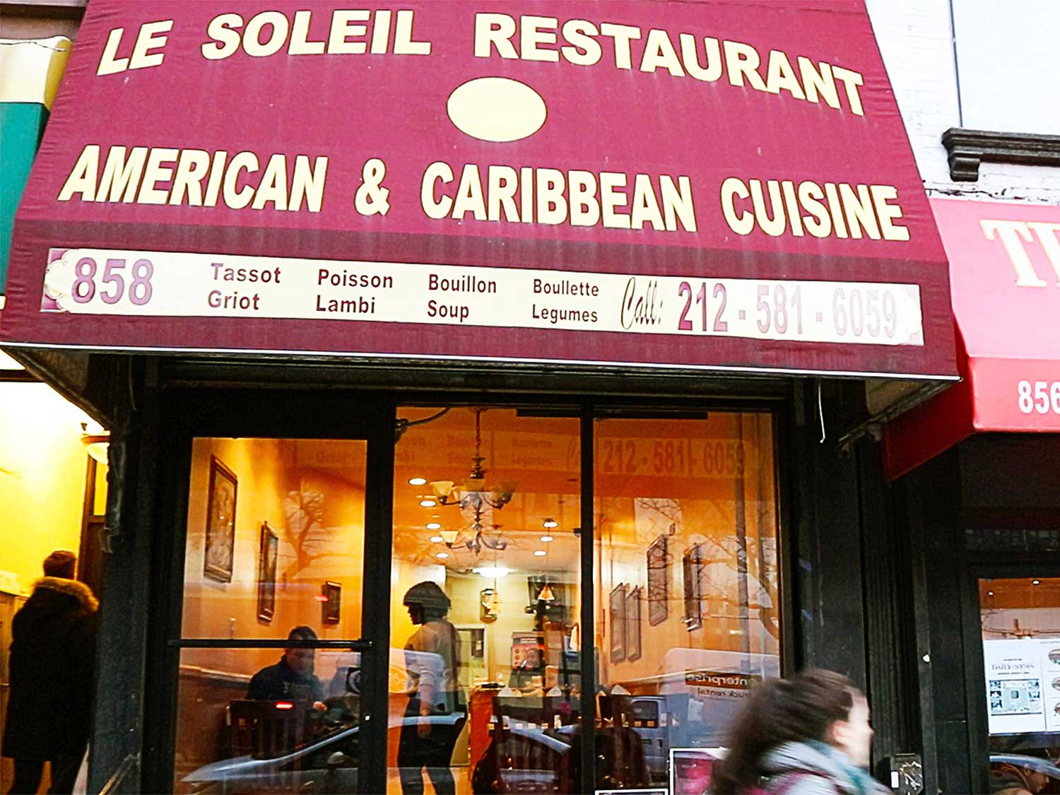 Seeking Lunch And Refuge At Manhattan S Last Haitian Cafe