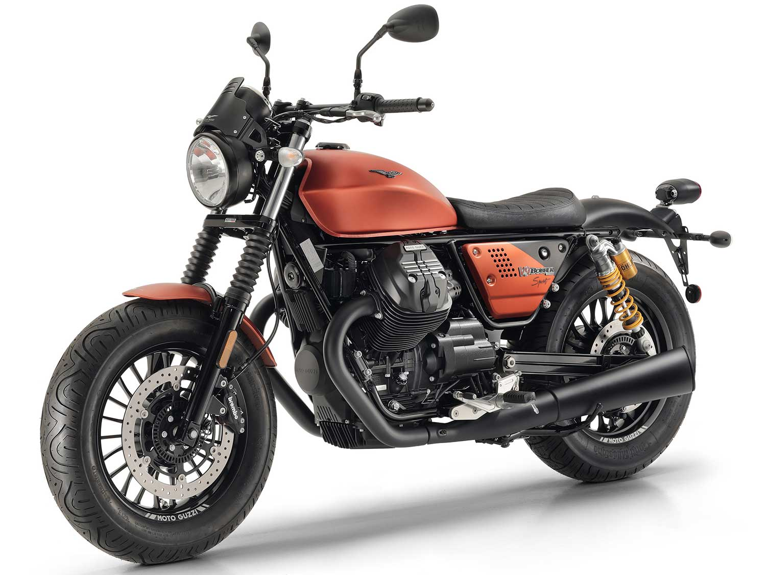 Moto Guzzi's New V9 Bobber Sport Is Unveiled In Italy | Motorcycle