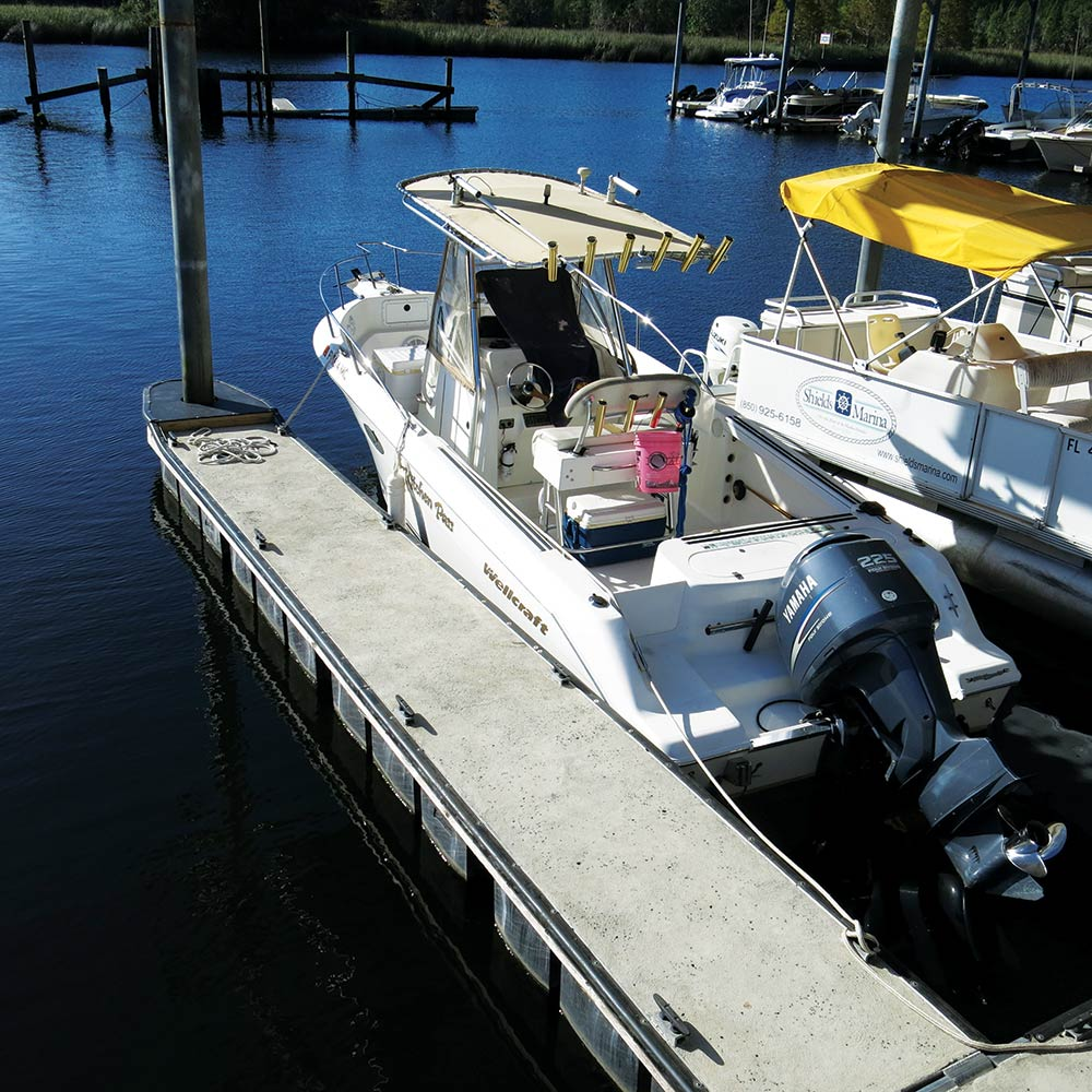 Boat Docking and Boat Launching | Salt Water Sportsman