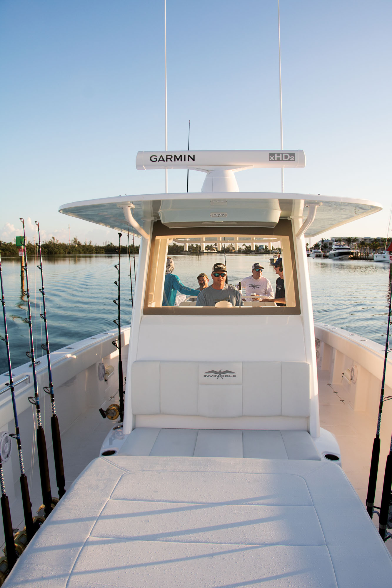 Invincible Boats 40 Cat Boat Test | Boating Magazine