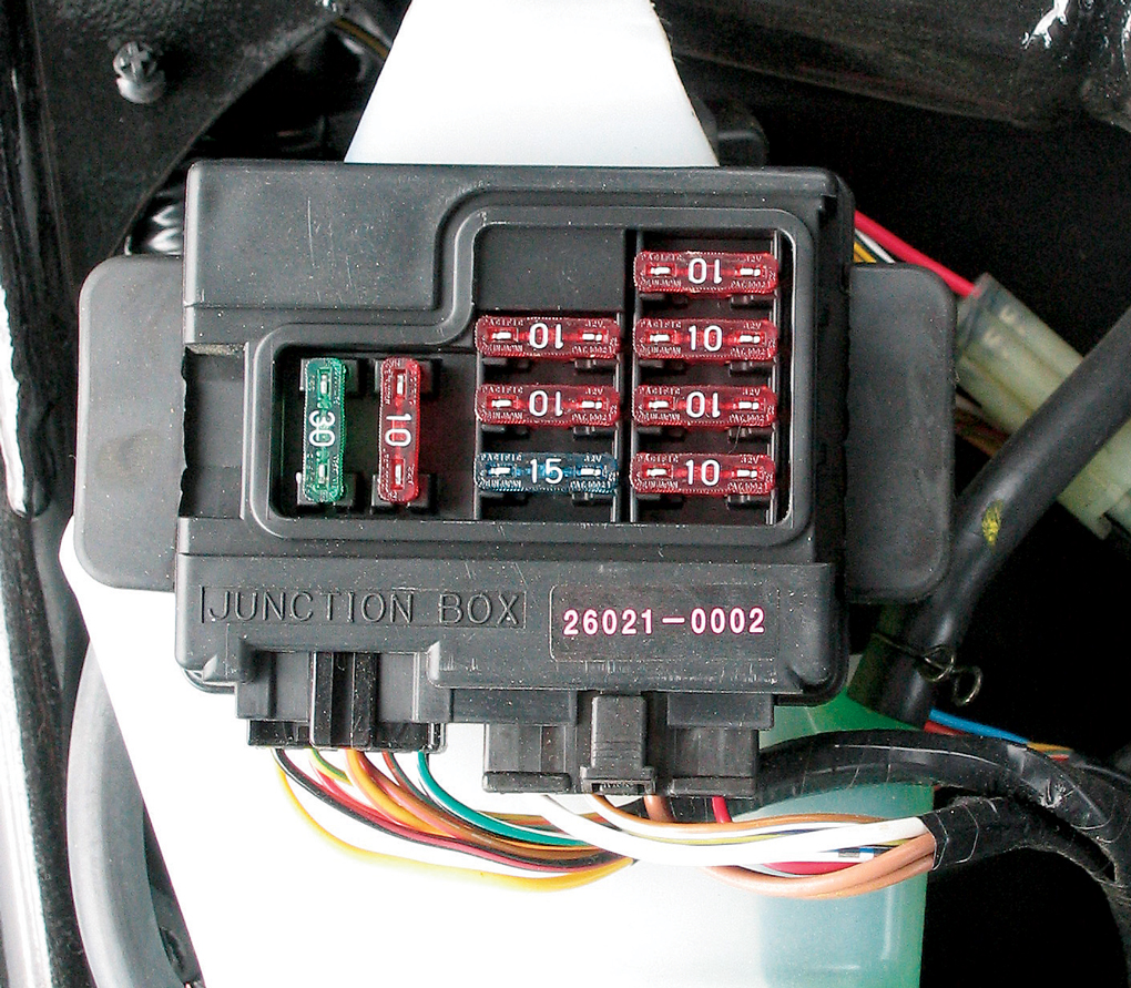 How To Install Electrical Accessories on a Motorcycle ... Jantel Electric Start Wiring Diagram on