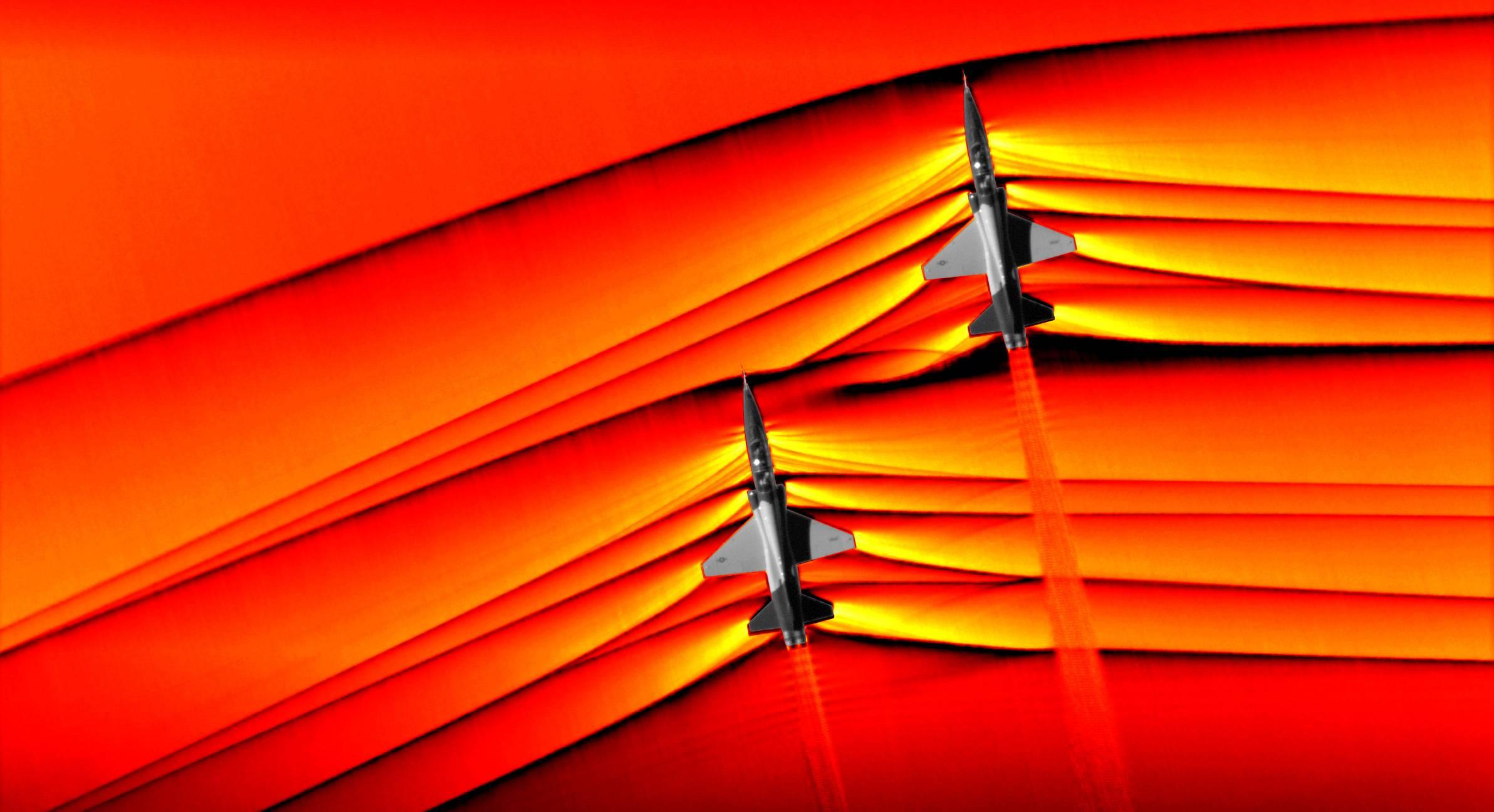 Megapixels: What a sonic boom looks like