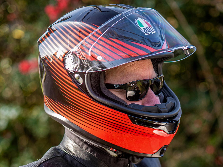 Agv K6 Helmet Review Cycle World
