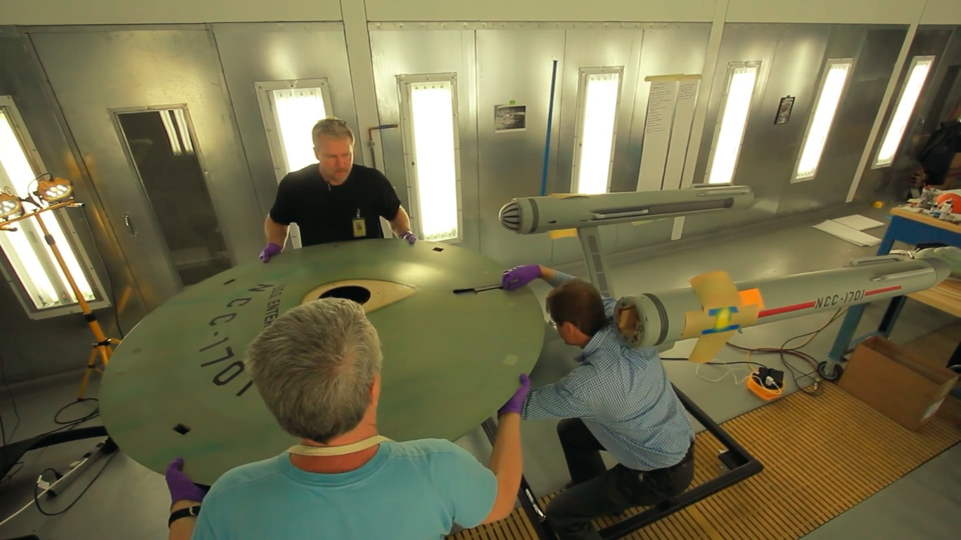 Watch The Smithsonian Restore The Original 'Star Trek' Enterprise Model