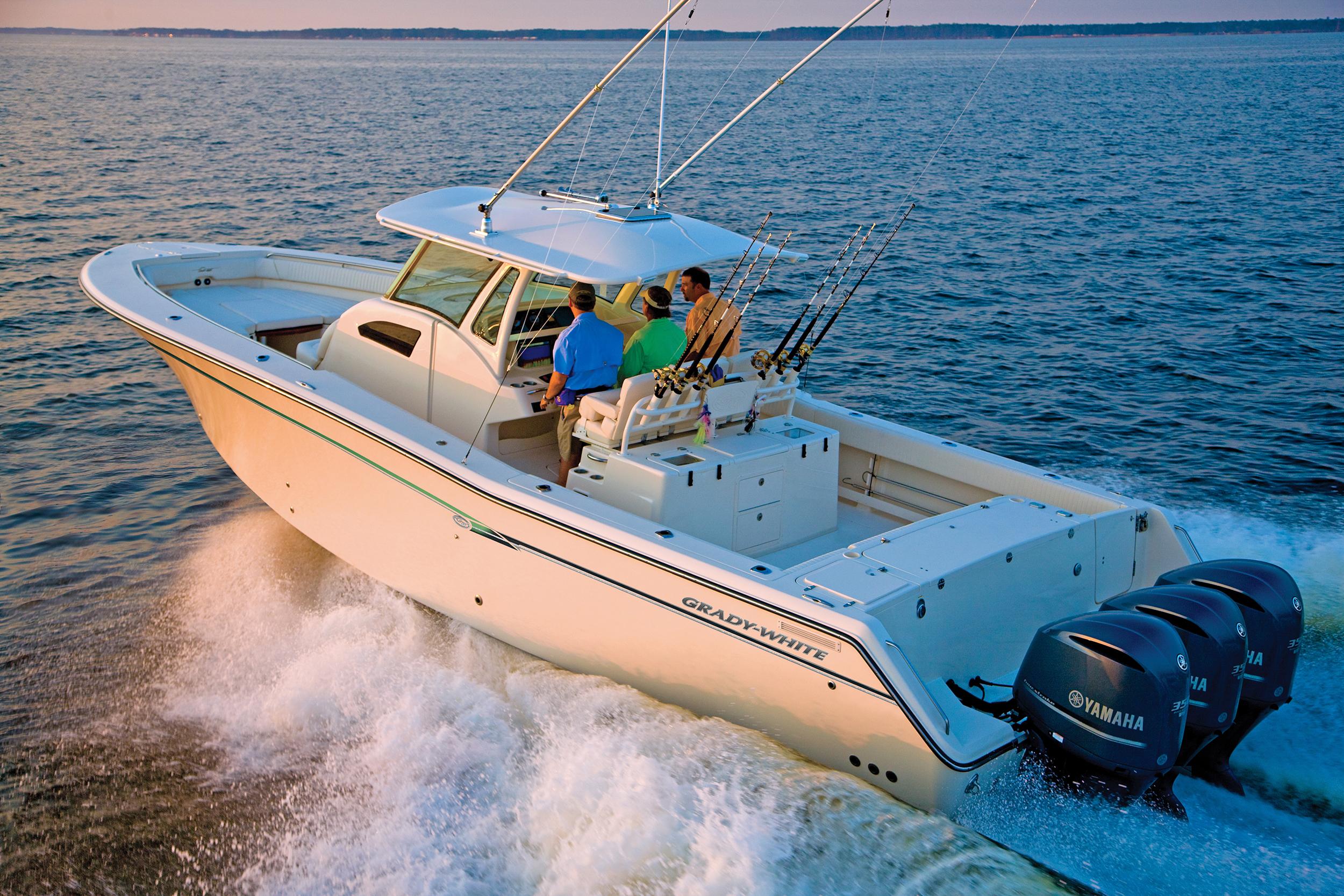 Fishing Boats With Yamaha, Evinrude, Suzuki, Mercury Outboard Motors