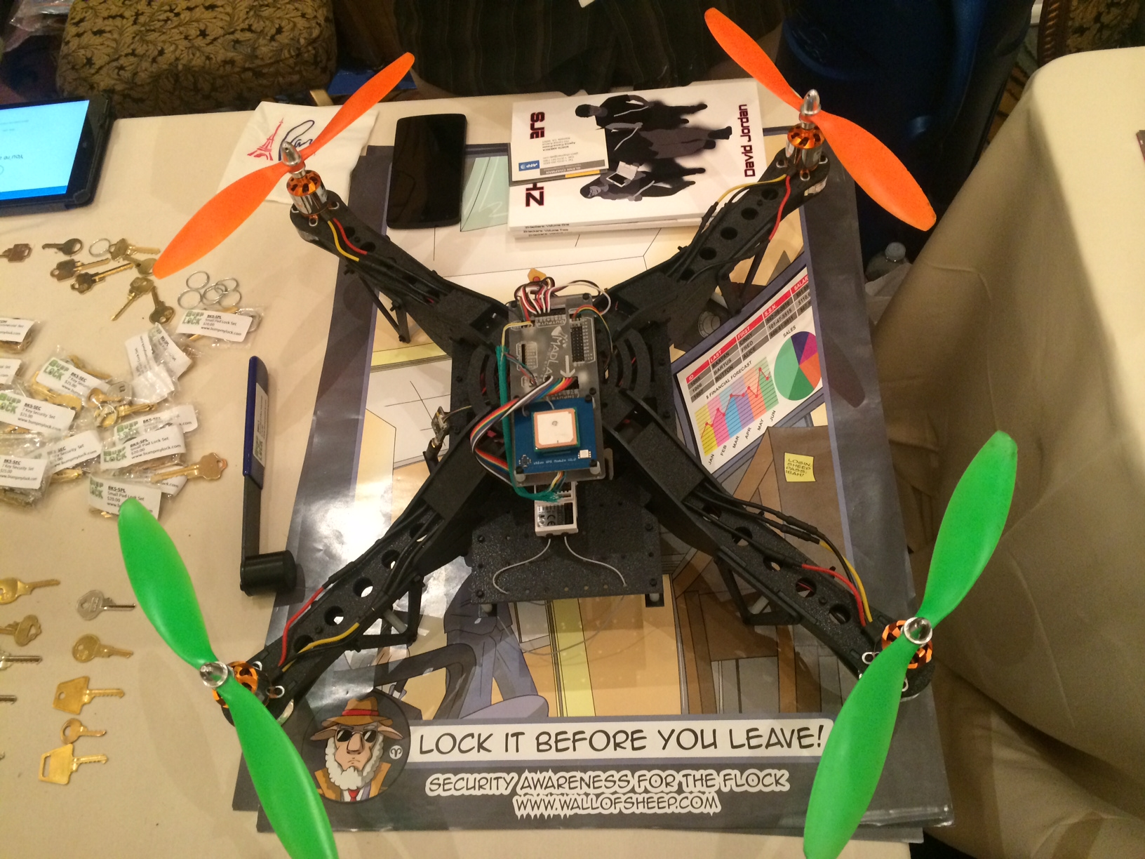 Drone At DEFCON Hacks From The Sky