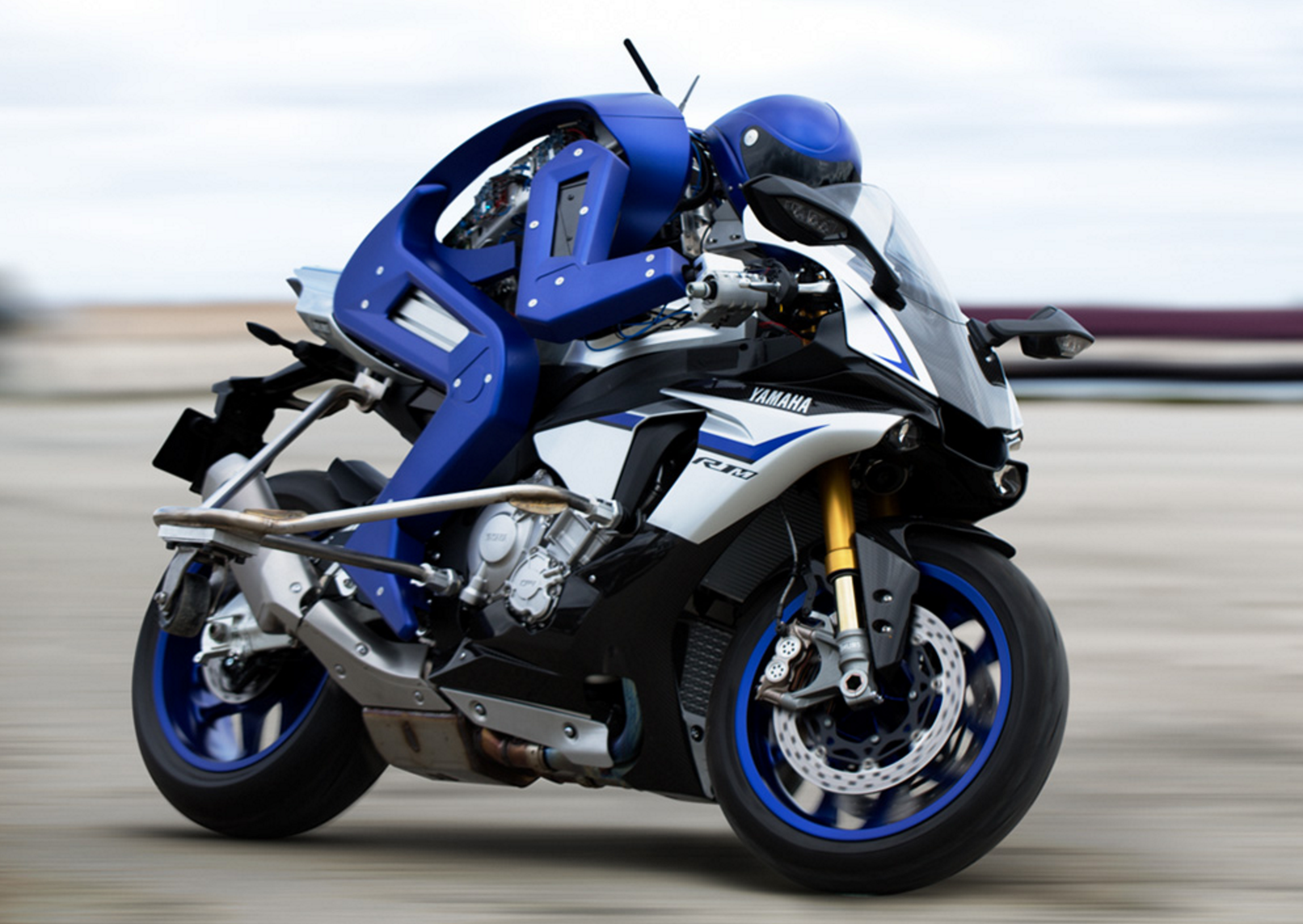 Motorcycle-Riding Robot Has A Mission: To Surpass Humans