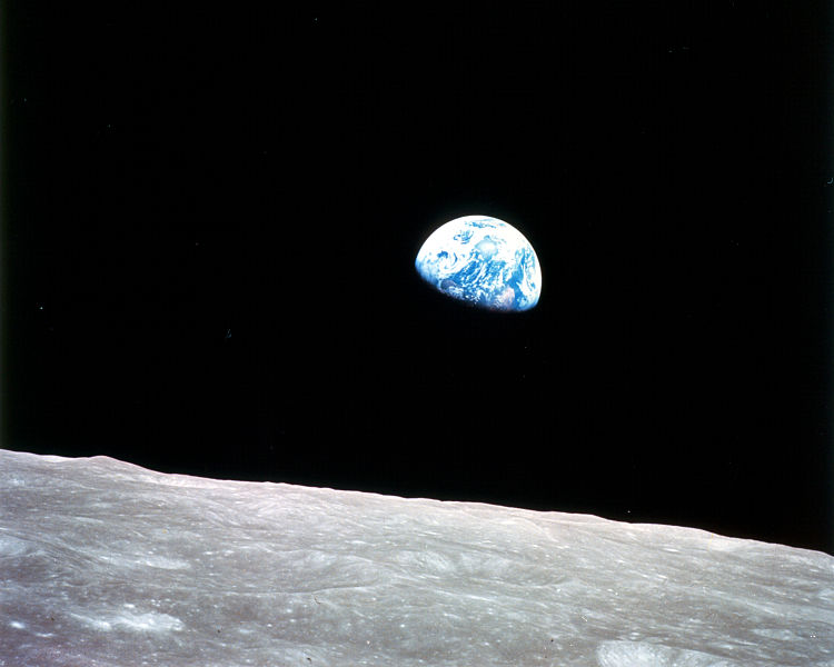 The collision that formed the moon may have delivered the building blocks of life