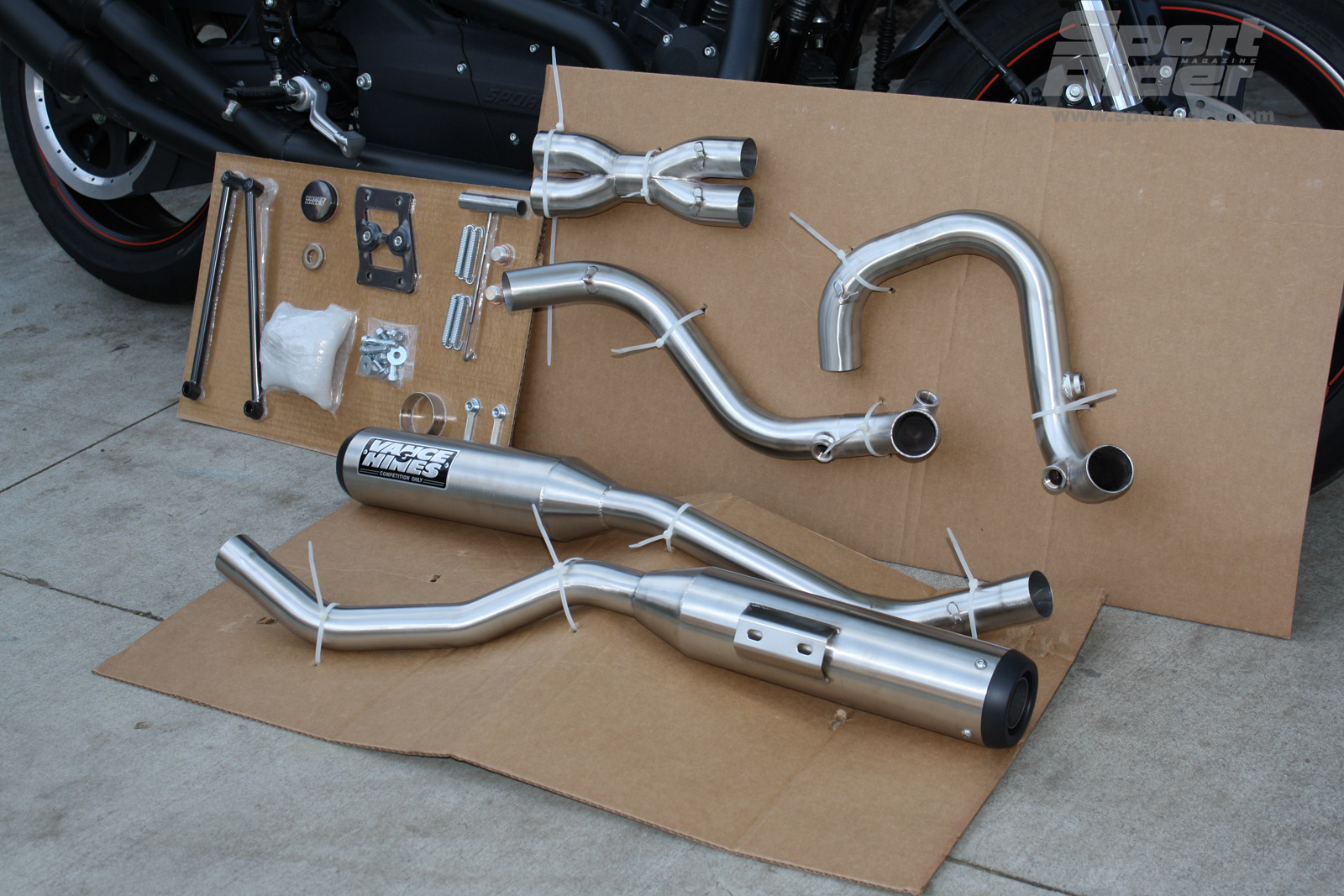 Vance & Hines Harley-Davidson XR1200 Project Part 1 | Cycle