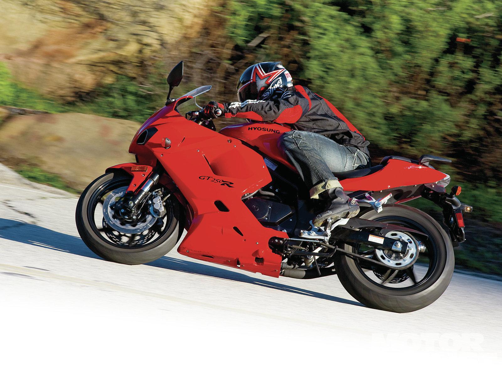 Honda Cbr250r Vs Hyosung Gt250r Vs Kawasaki Ninja 250r Mc